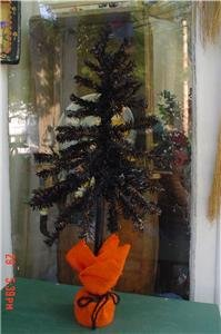 Black Halloween Tree to Decorate and Display