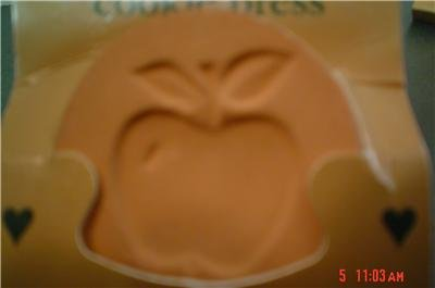 Apple Terra Cotta Cookie Stamp
