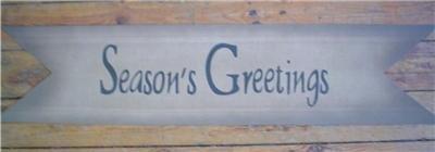 Very Primitive Seasons Greetings Banner