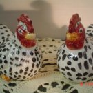 Ceramic Chicken Salt and Pepper Shakers Set