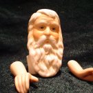 Porcelain Santa Doll Kit - Long Beard - Head and Hands