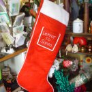 Huge Christmas Letter to Santa Stocking