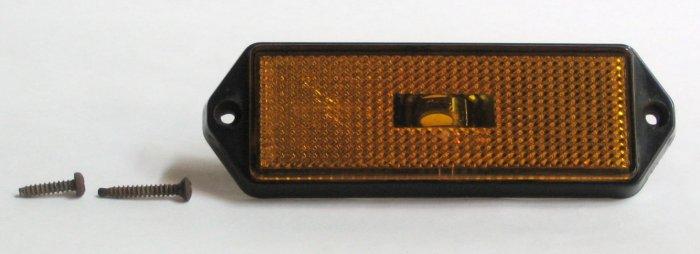 Front Side Marker Light Lens - Right - Amber - 1983 Alfa Romeo GTV6