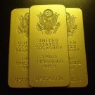 Treasury Gold Bar Replicas