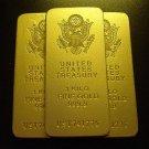 Treasury Gold Bar Replicas