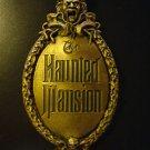 Haunted Mansion Gate Plaque