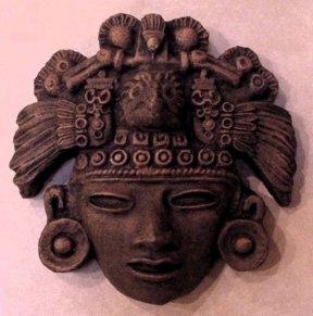 Mayan Aztec Warrior Artifact 2012