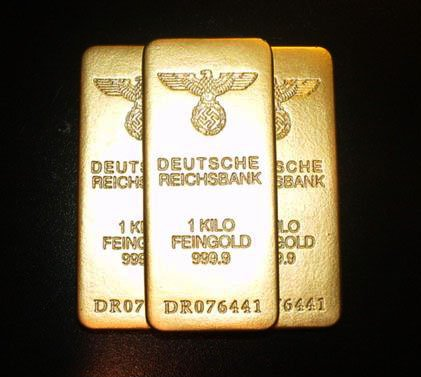 WW ll German Gold Bar Replicas