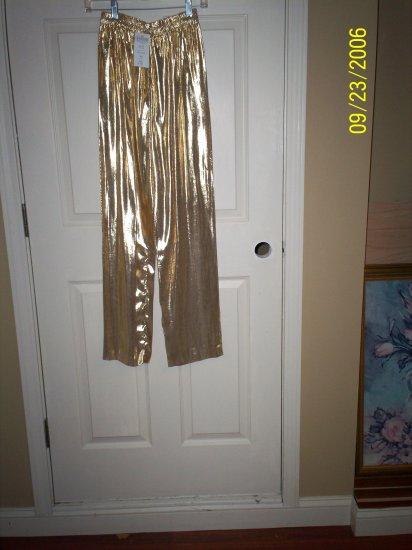 Gold Lame Pants
