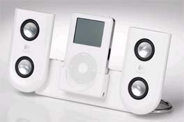 Logitech mm22 Portable iPod Speakers