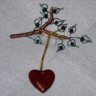 Heart on a String Pin