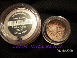 BareMinerals Shadow Glimmers * NUDE BEACH*