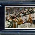 1936 Olympic card featuring Adolf Hitler..graded by PSA as EX/MT 6