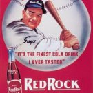 Babe Ruth - Red Rock Cola TIN SIGN