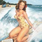SW - Surfer Girl TIN SIGN