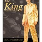 Elvis Presley - The King of Rock & Roll - Over 110 Gold Records - Gold Lame' Suit TIN SIGN