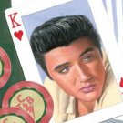 Elvis Presley - King of Hearts TIN SIGN