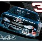 Dale Earnhardt NASCAR racing car TIN SIGN