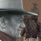 John Wayne (The Duke) western cobwy Legend TIN SIGN