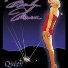 Norma Jean Baker aka Marilyn Monroe - Queen Of Silver Screen TIN SIGN