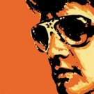 The King of Rock 'n' Roll Elvis Presley Tigerman TIN SIGN