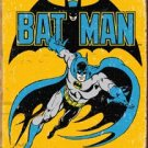 Retro Batman The Caped Crusader TIN SIGN