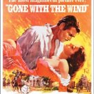 Clark Gable Gone With the Wind movie poster TIN SIGN
