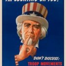 Uncle Sam - I'm Counting On You! TIN SIGN