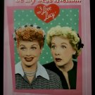 Lucille Ball - I Love Lucy - 'You'll always be my best friend - you know too much' TIN SIGN