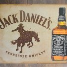 Jack Daniels Tennessee Whiskeyw/  Bronco TIN SIGN