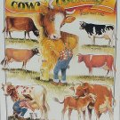 Cow Country by Bob Bates TIN SIGN