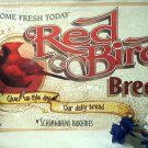 Red Bird Bread WEATHERED TIN SIGN