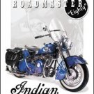 Indian Motorcycles - '51 Roadmaster TIN SIGN