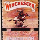 Winchester Firearms & Ammunition - Express Rider  TIN SIGN