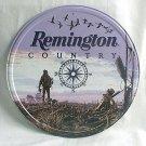 'Remington Country' round TIN SIGN