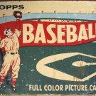 1954 Topps Baseball Wrapper TIN SIGN