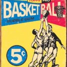 1957 Topps Basketball wrapper reproduction TIN SIGN