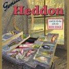 Heddon's Fishing Tackle Box TIN SIGN