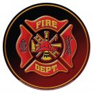 Mike Patrick Fire Department TIN SIGN