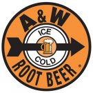 A & W Root Beer - Ice Cold TIN SIGN
