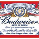 Budweiser - Label TIN SIGN