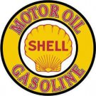 Shell Gas & Motor Oil TIN SIGN