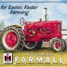 International Harvester Farmall M (McCormick) TIN SIGN