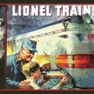Lionel Trains 1935 Cover TIN SIGN