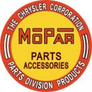 Mopar Parts & Accessories ROUND TIN SIGN