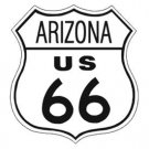 US Route 66 Arizona TIN SIGN
