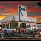 Cramkshaft Motors Hot Rods TIN SIGN