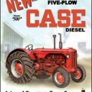 Case - 500 Diesel Tractor TIN SIGN