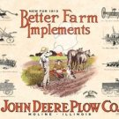 John Deere Plow Company - Better Farm Implements TIN SIGN