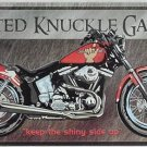 Busted Knuckle Garage Motorcycle TIN SIGN